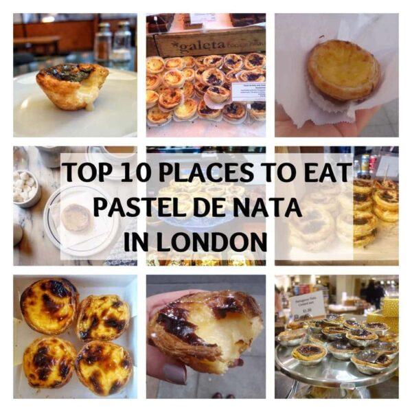 Top 10 Places To Eat Pastel De Nata In London Notsobasiclondon
