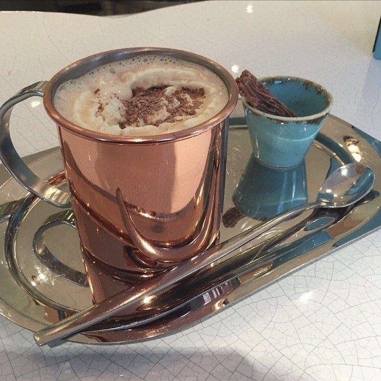 13 Hot Chocolates You Must Drink in London - The ultimate list for any hot chocolate lover. More details on www.notsobasiclondon.com