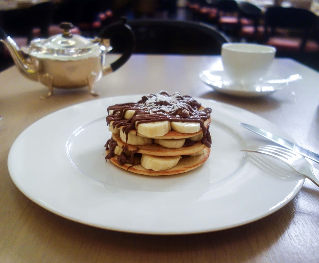 Nutella Buttermilk Pancake - Berners Tavern - 30 places to eat Nutella in London (Updated) Find them all at www.notsobasiclondon.com