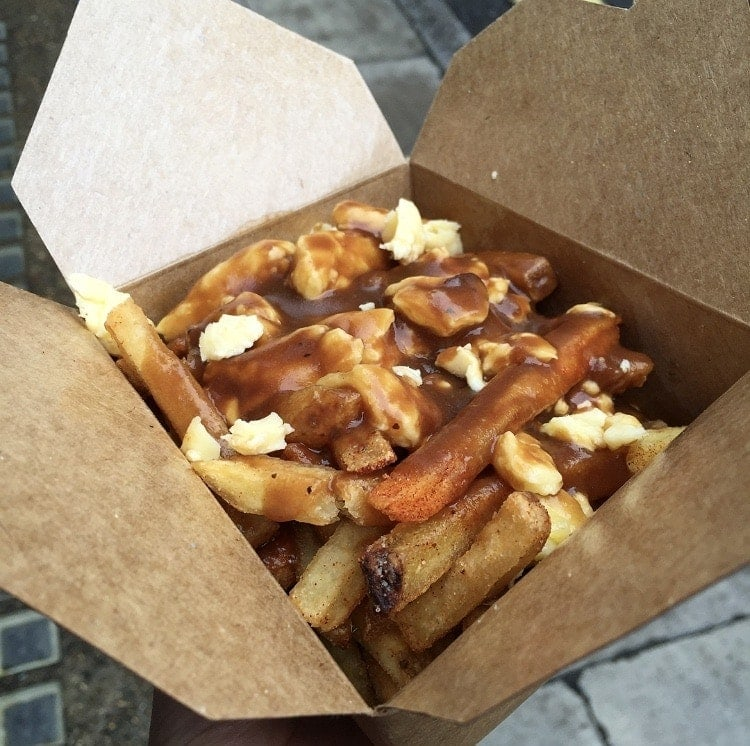 10 Places to Eat Cheesy Chips in London - Poutine, Poutinere NOTSOBASICLONDON, London food blog