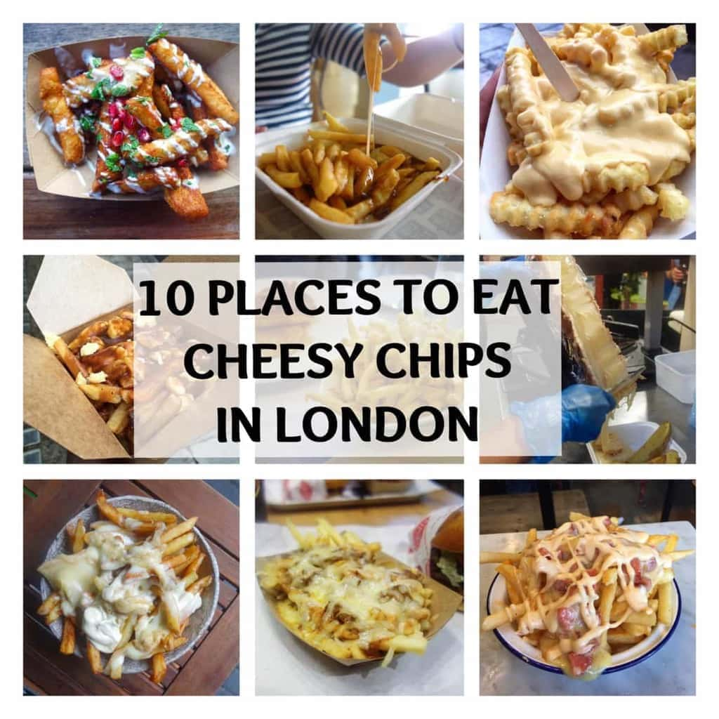 10 Places to Eat Cheesy Chips in London