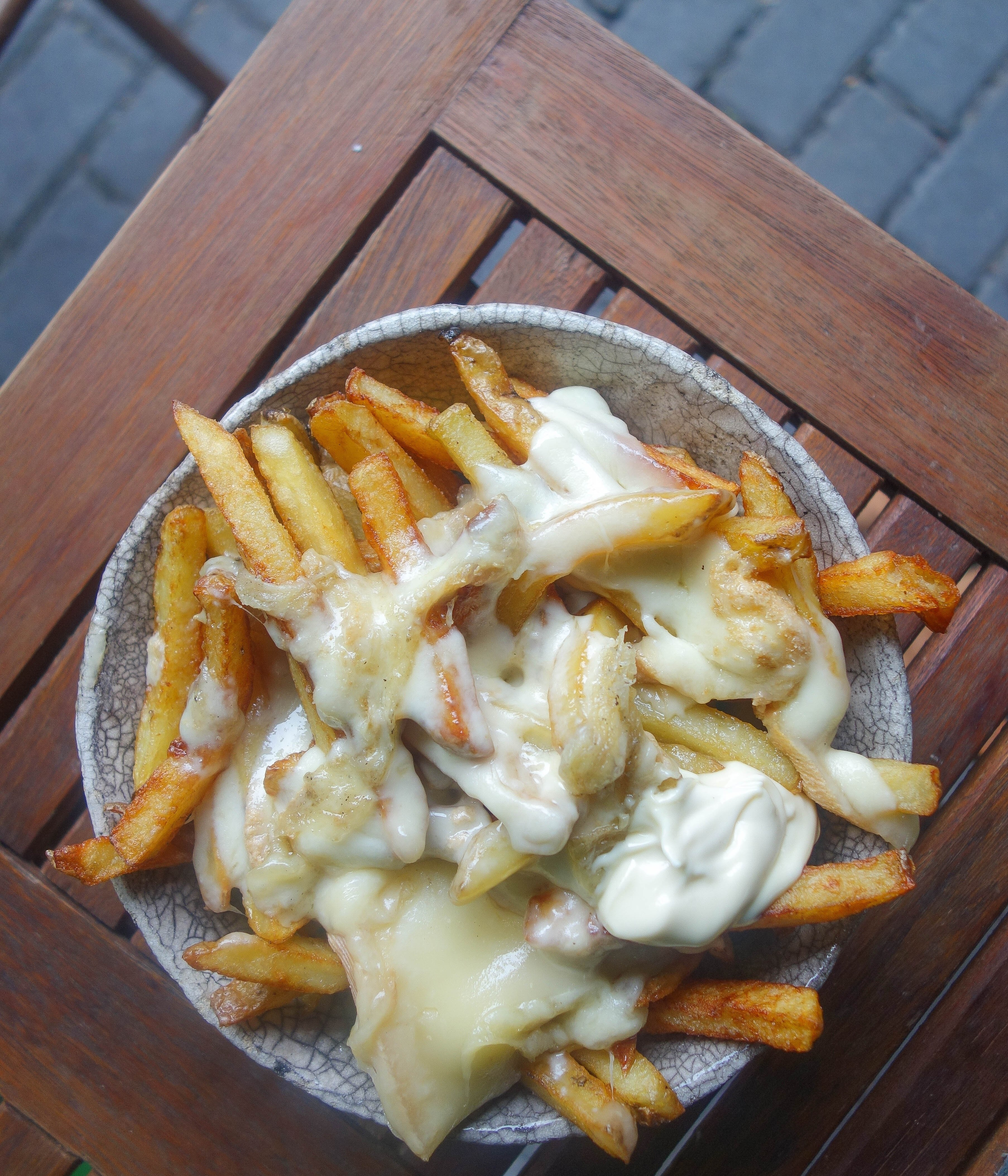 Duck Fat Fries at The Frenchie Bistro - 1 of 20 London Foods You Must Eat in 2018 . For the entire list check out notsobasiclondon.com