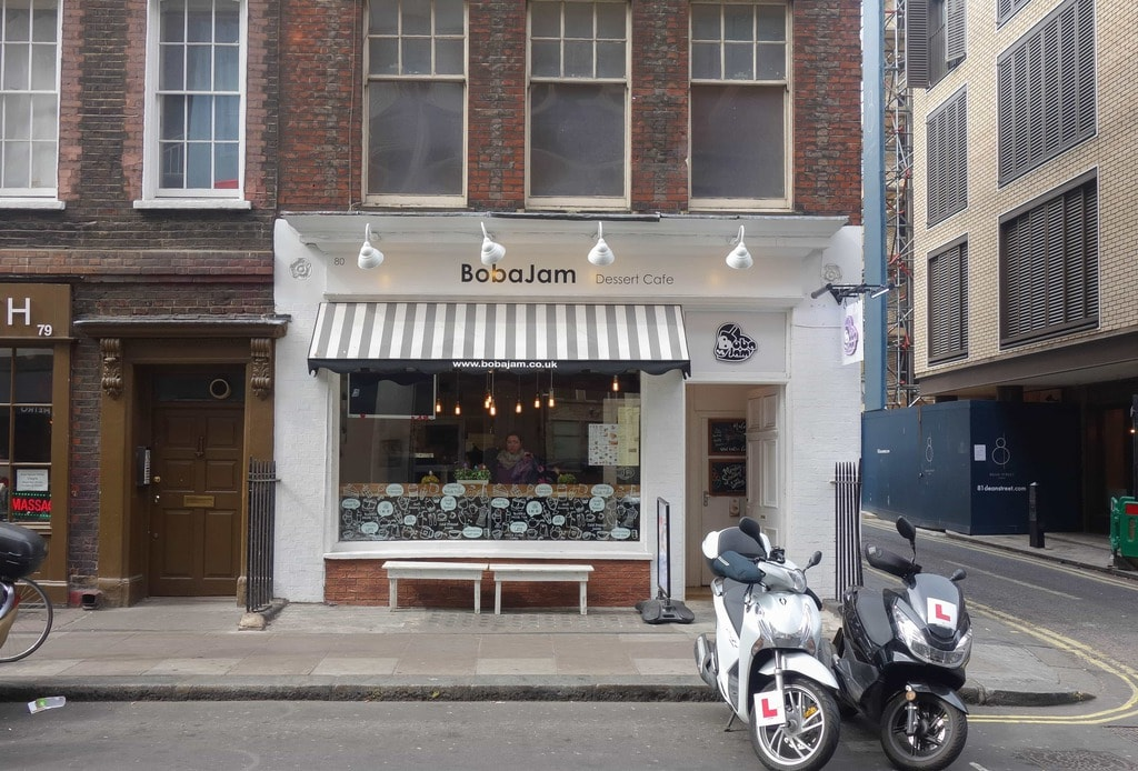 Boba Jam in Soho is an late night dessert cafe with an asian twist. More on notsobasiclondon.com