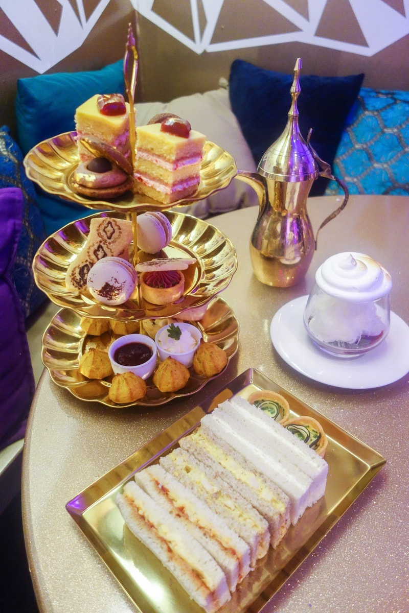 Aladdin Afternoon Tea at Cutter & Squidge - July's Food Finds
