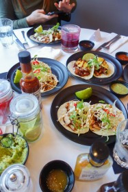 Taqueria is a trendy Mexican haunt about a 10 minute stroll from the famous Portbello road, with an impressive menu packed with tacos, tostadas and tequila.