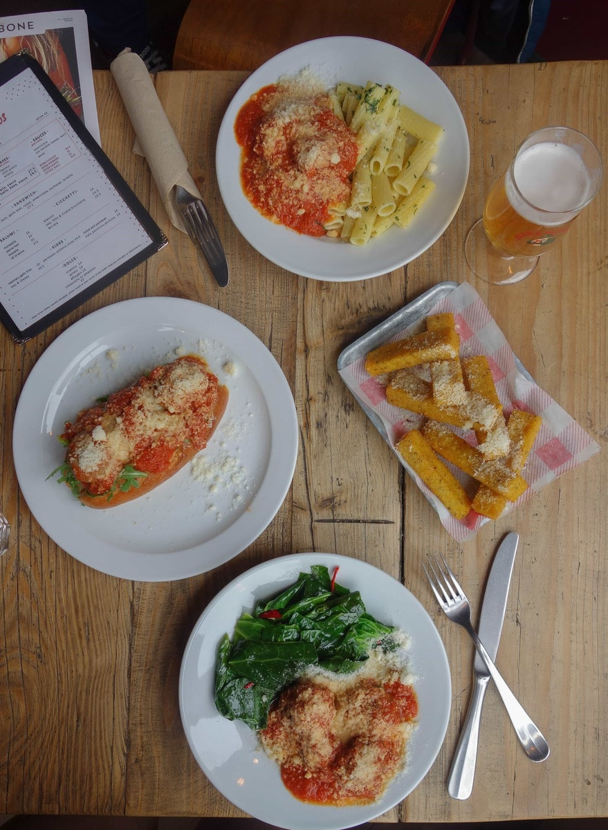 Hearty meatballs, pasta and a tiramisu of dreams!! Check out the brilliant Belpassi Bros on notsobasiclondon.com