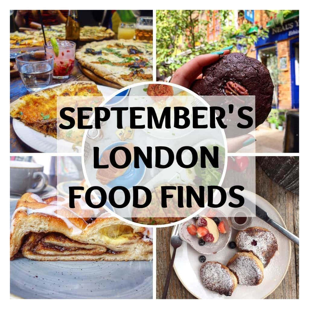 September's London Food Finds. Check em all out on notsobasiclondon.com