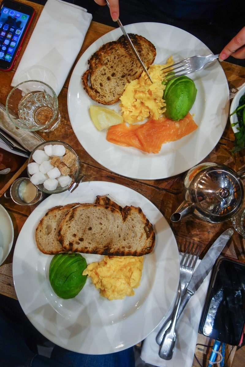 Balans Breakfast - One of November's London Food Foods. Check em' all out on notsobasiclondon.com