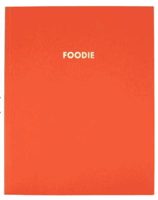 Foodie slogan food planner
