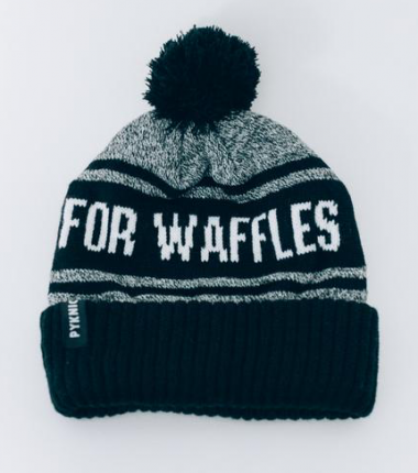 PYKNIC WEEKENDS ARE FOR WAFFLES BEANIE