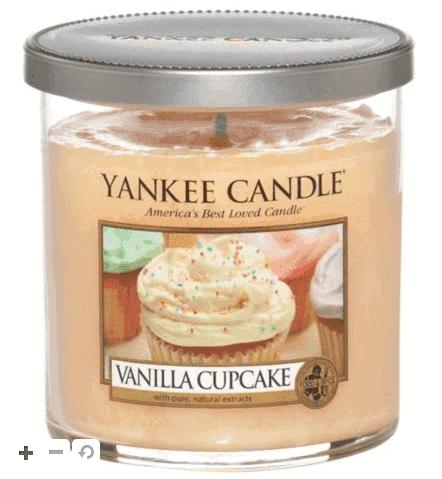 Yankee Candle Regular Tumbler Candle - Vanilla Cupcake Read more at http://www.boots.com/yankee-candle-regular-tumbler-candle-vanilla-cupcake-10151486#FmoPeiUASymRKZMl.99