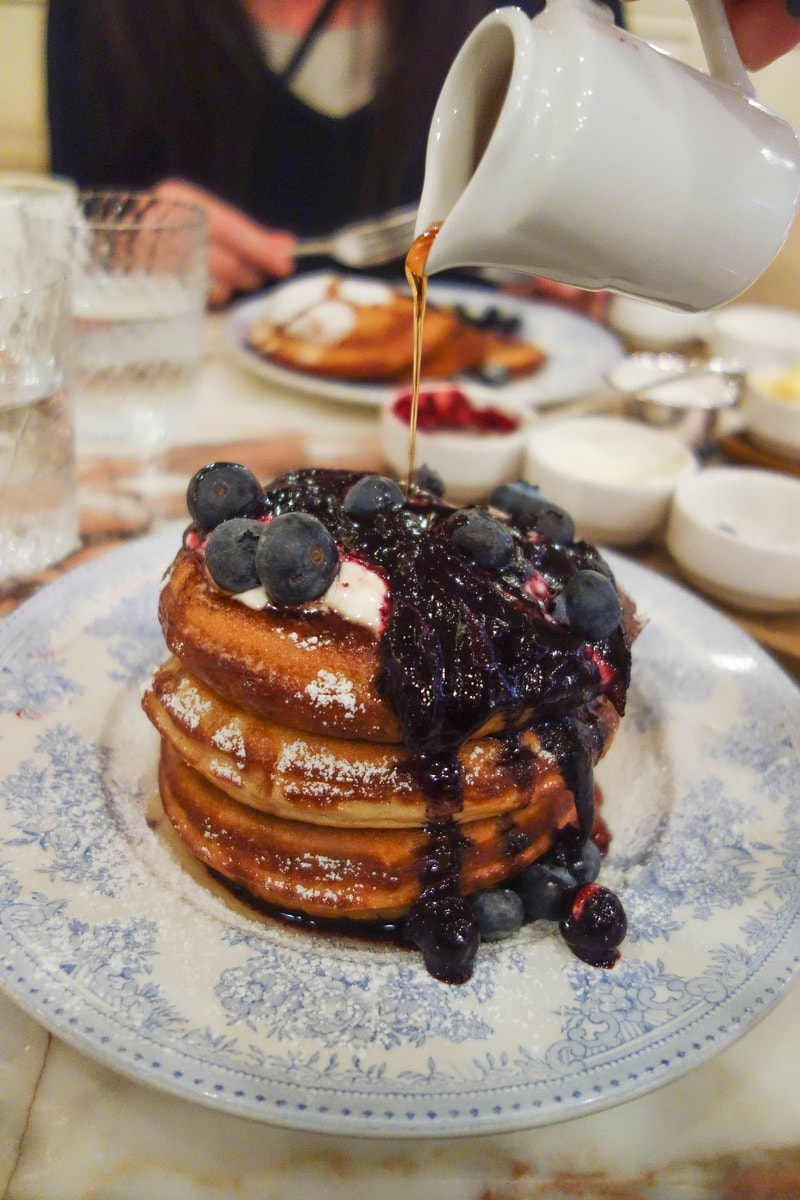 Buttermilk Pancakes, Chiltern Firehouse - Where To Eat London's Most Delicious Pancakes