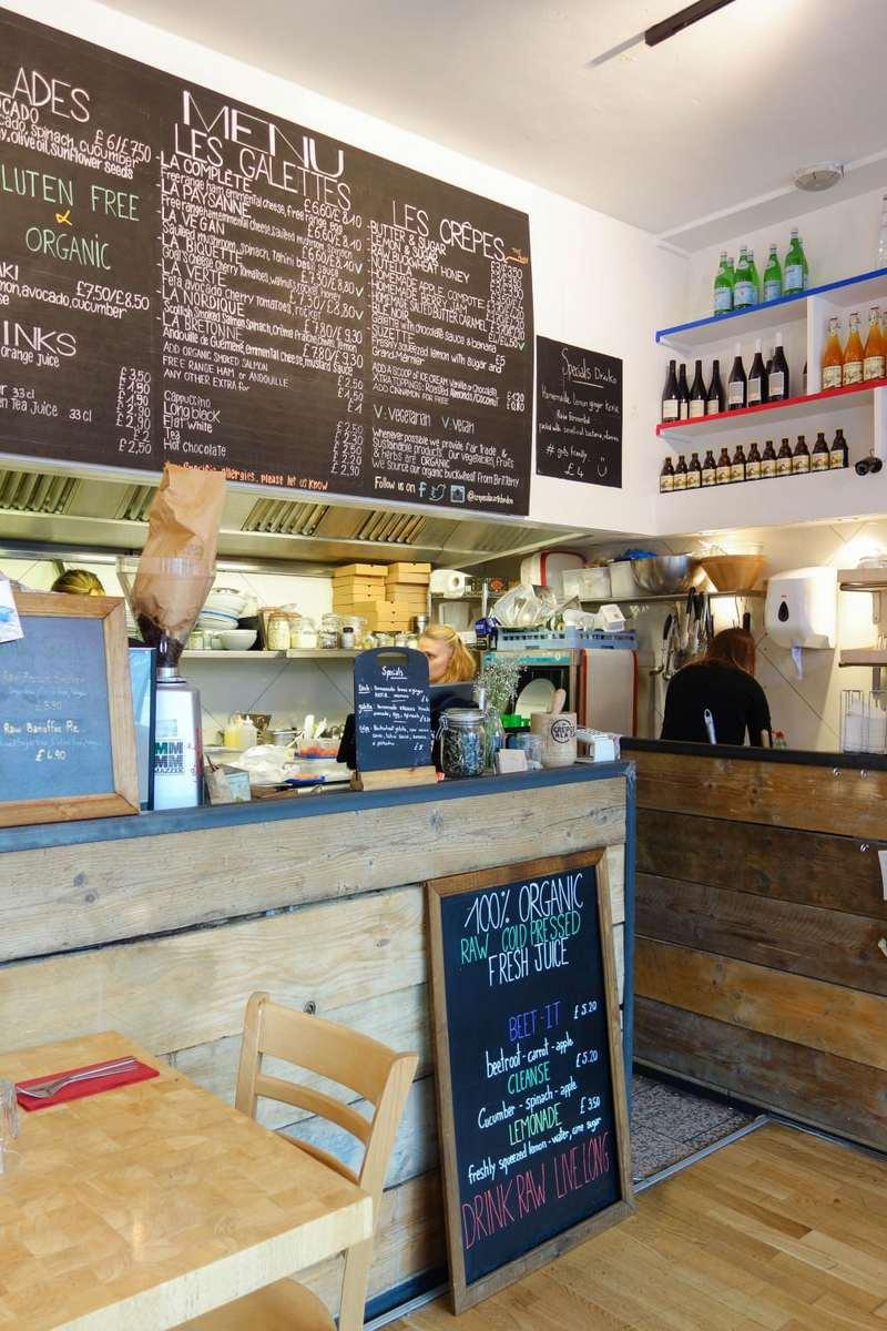Inspiring Women On The London Food Scene - Eva La Badezet, Crepes a la Carte