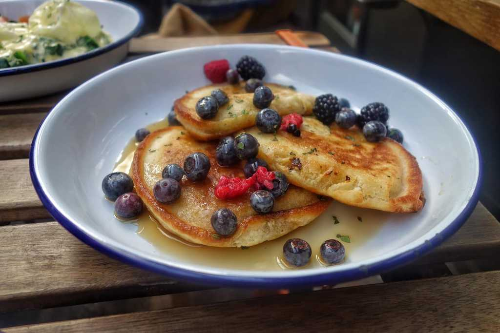 Berry Pancakes, Burnt Toast Cafe - Where To Eat London's Most Delicious Pancakes