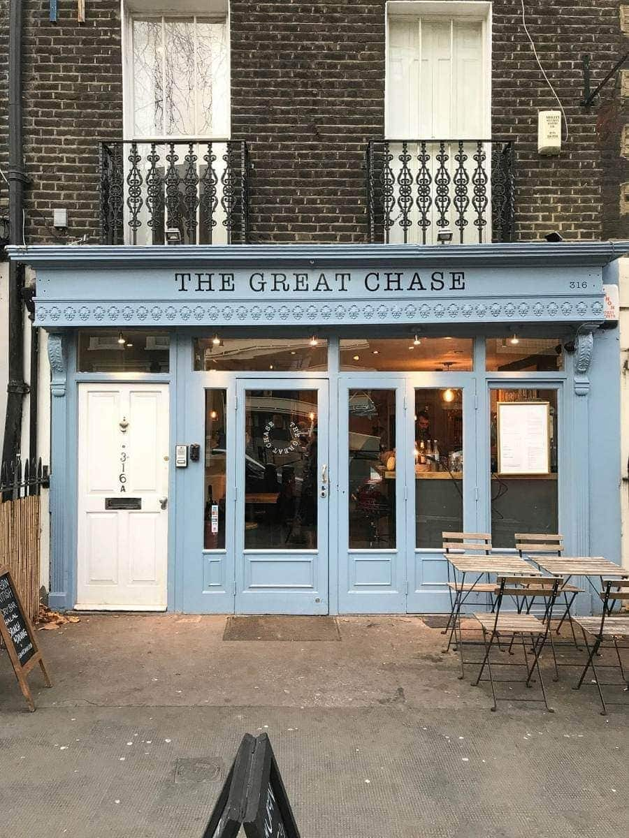 The Great Chase, Islington - Date Night/Romantic Restaurant Ideas London