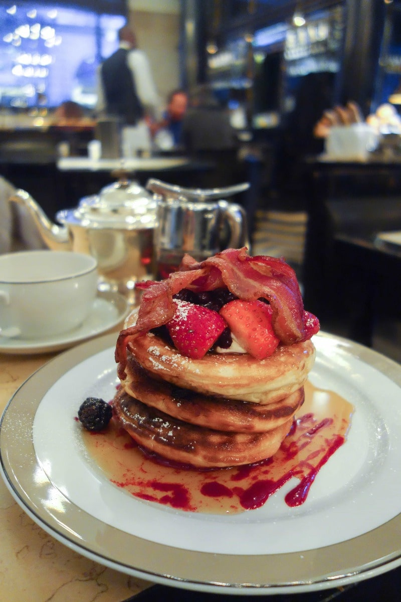 Berry and Bacon Pancakes, The Wolseley - Where To Eat London's Most Delicious Pancakes