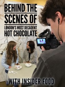 Behind The Scenes of London's Most Decadent Hot Chocolate - With Insider Food