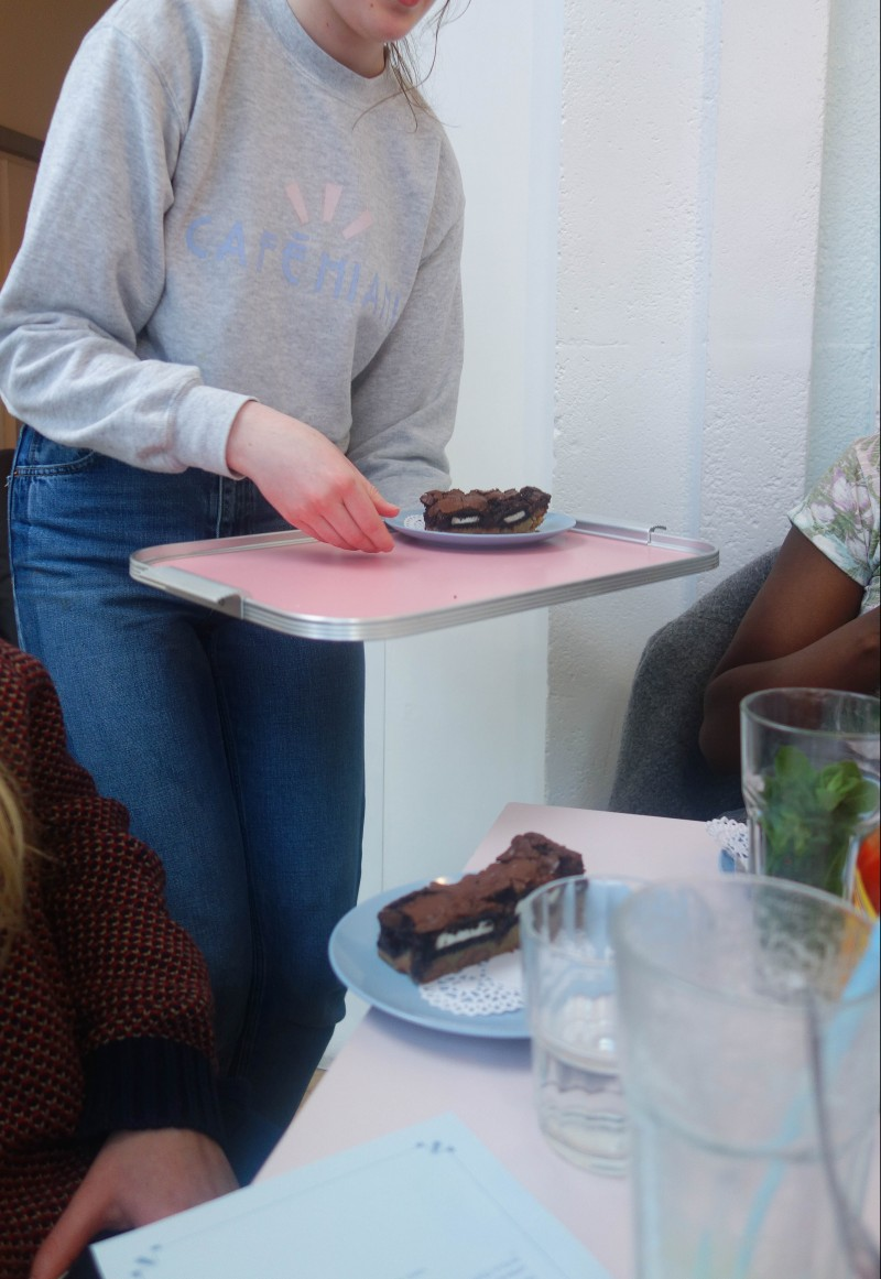 Slutty Brownies at Cafe Miami
