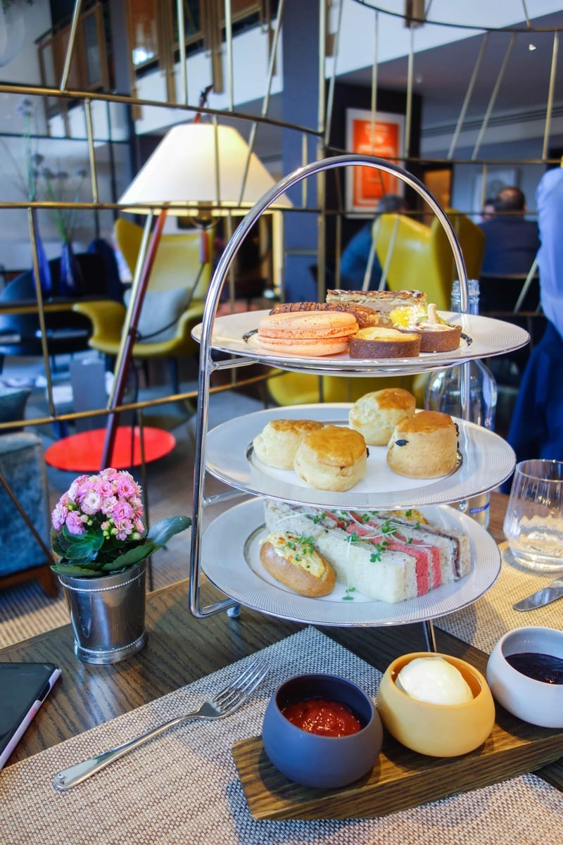Athenaeum Afternoon Tea - One of April's London Food Finds (2018). Check out the whole list on notsobasiclondon.com