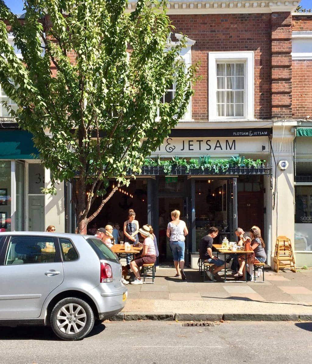 Flotsam & Jetsem - #365LDNCafes - 365 London Cafes in 365 Days By Alexandra Kalinowski