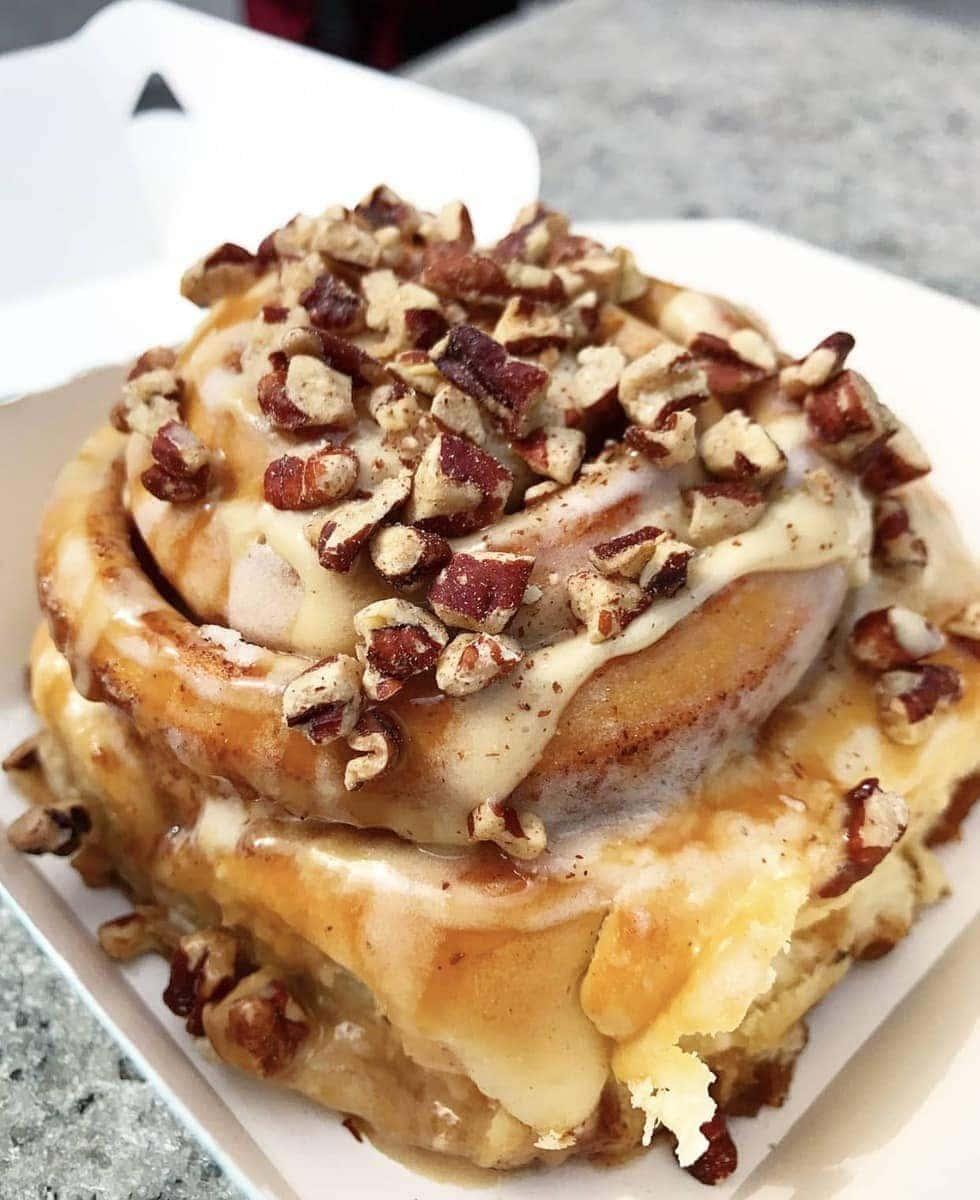 Cinnabon, Various Locations - Where to Eat London's Tastiest Cinnamon Buns