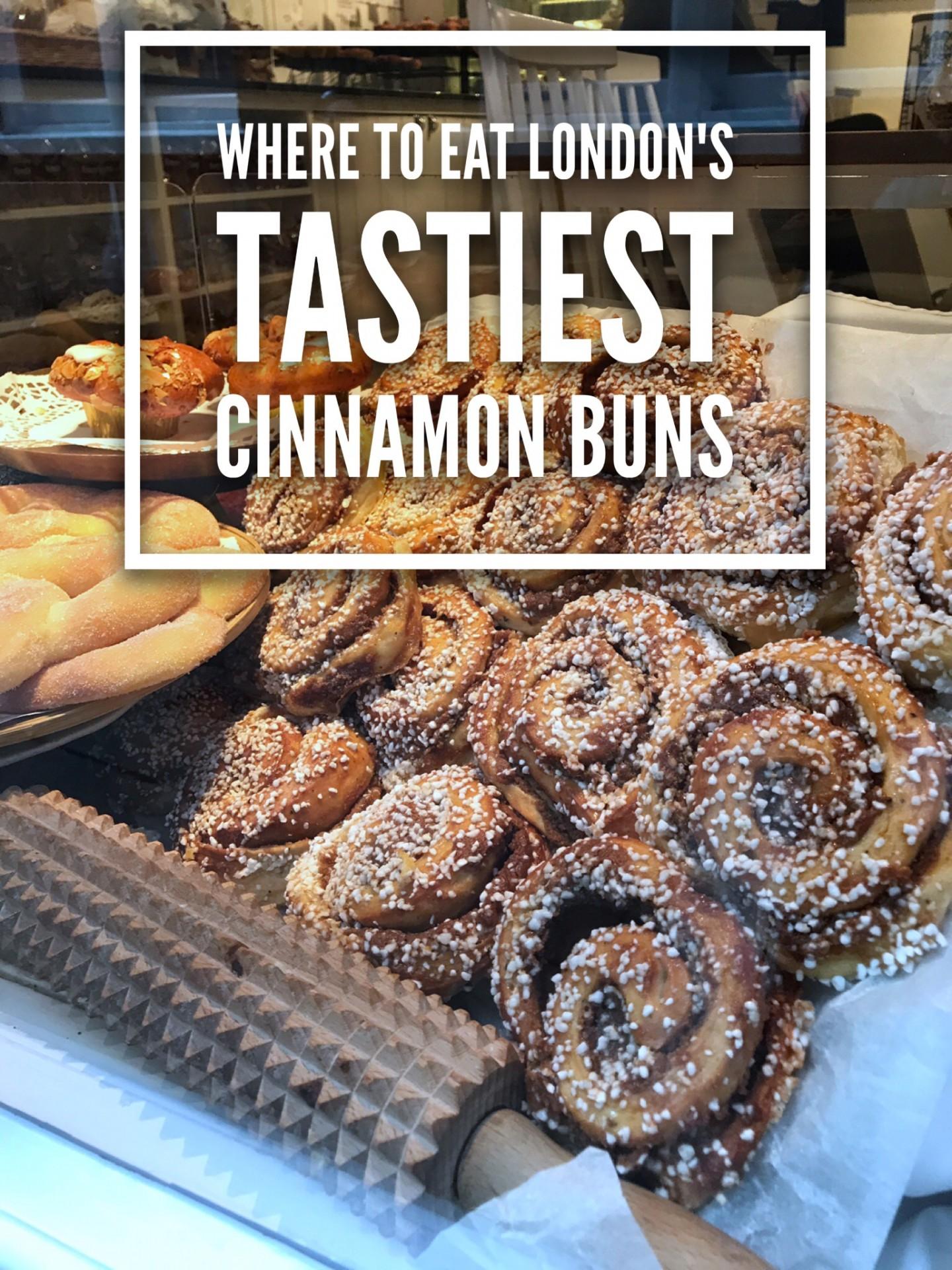 Where to Eat London's Tastiest Cinnamon Buns