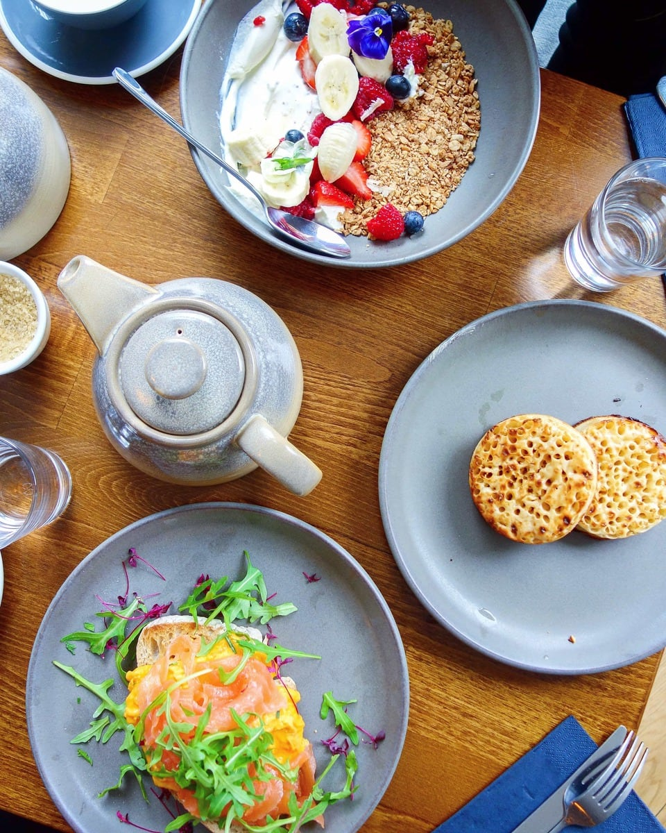 Brunch at St Paul Islington - One of April's London Food Finds (2018). Check out the whole list on notsobasiclondon.com