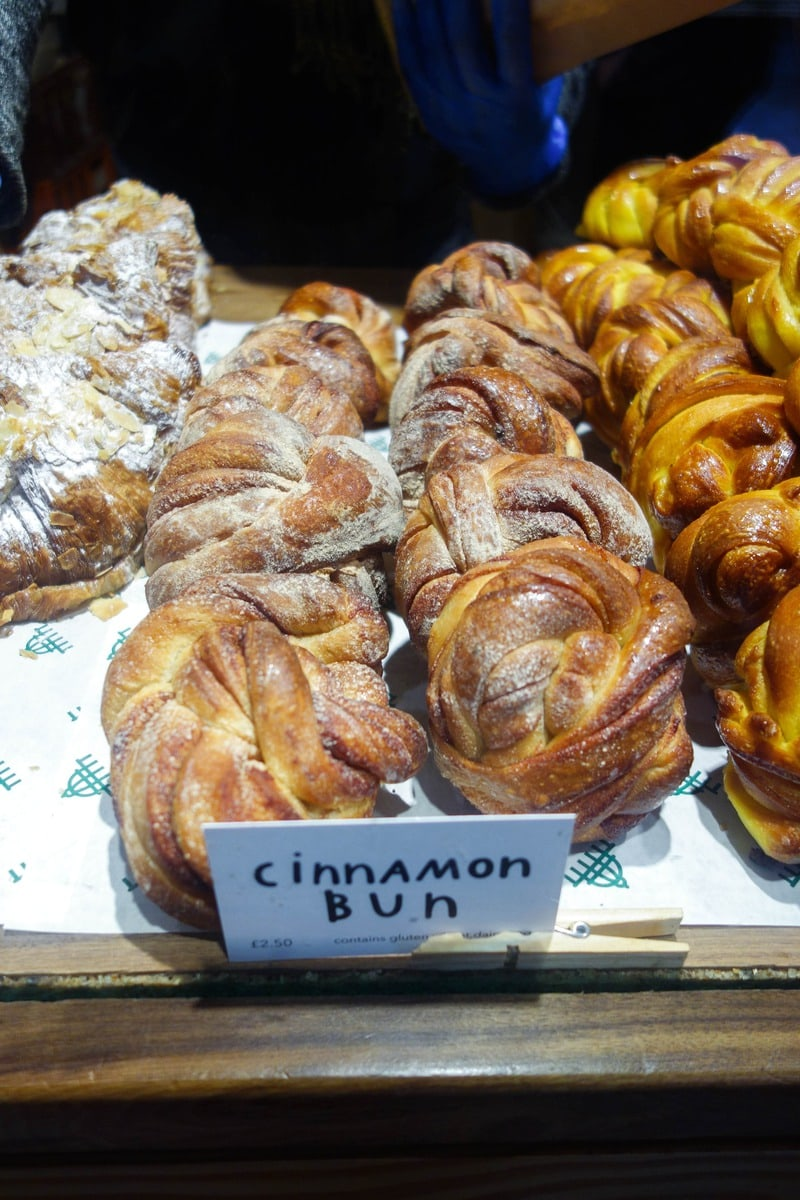 Pavilion Bakery, Broadway Market - Where to Eat London's Tastiest Cinnamon Buns