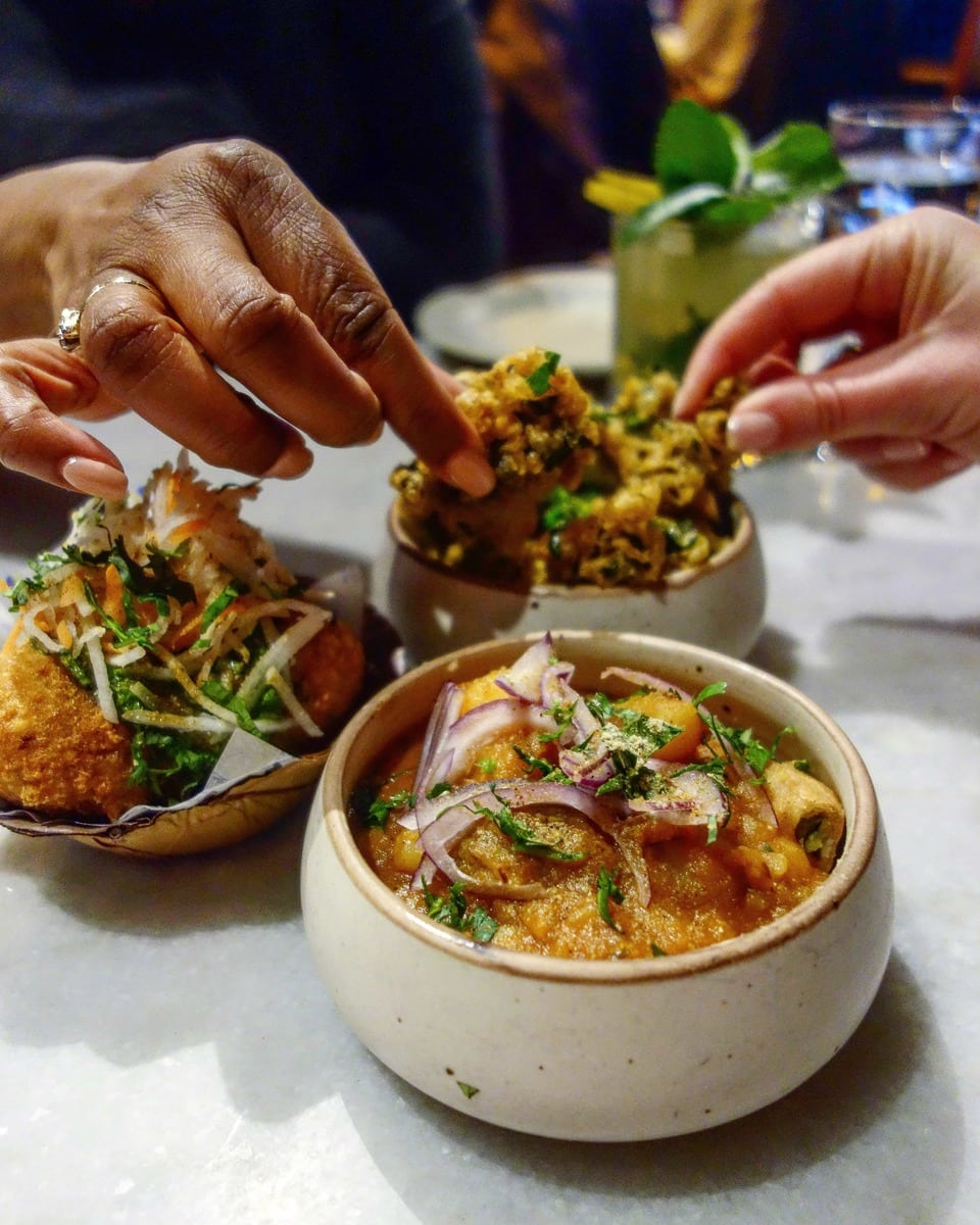 Sharing Plates at Talli Joe - One of May's London Food Finds (2018). Check out the whole list on notsobasiclondon.com