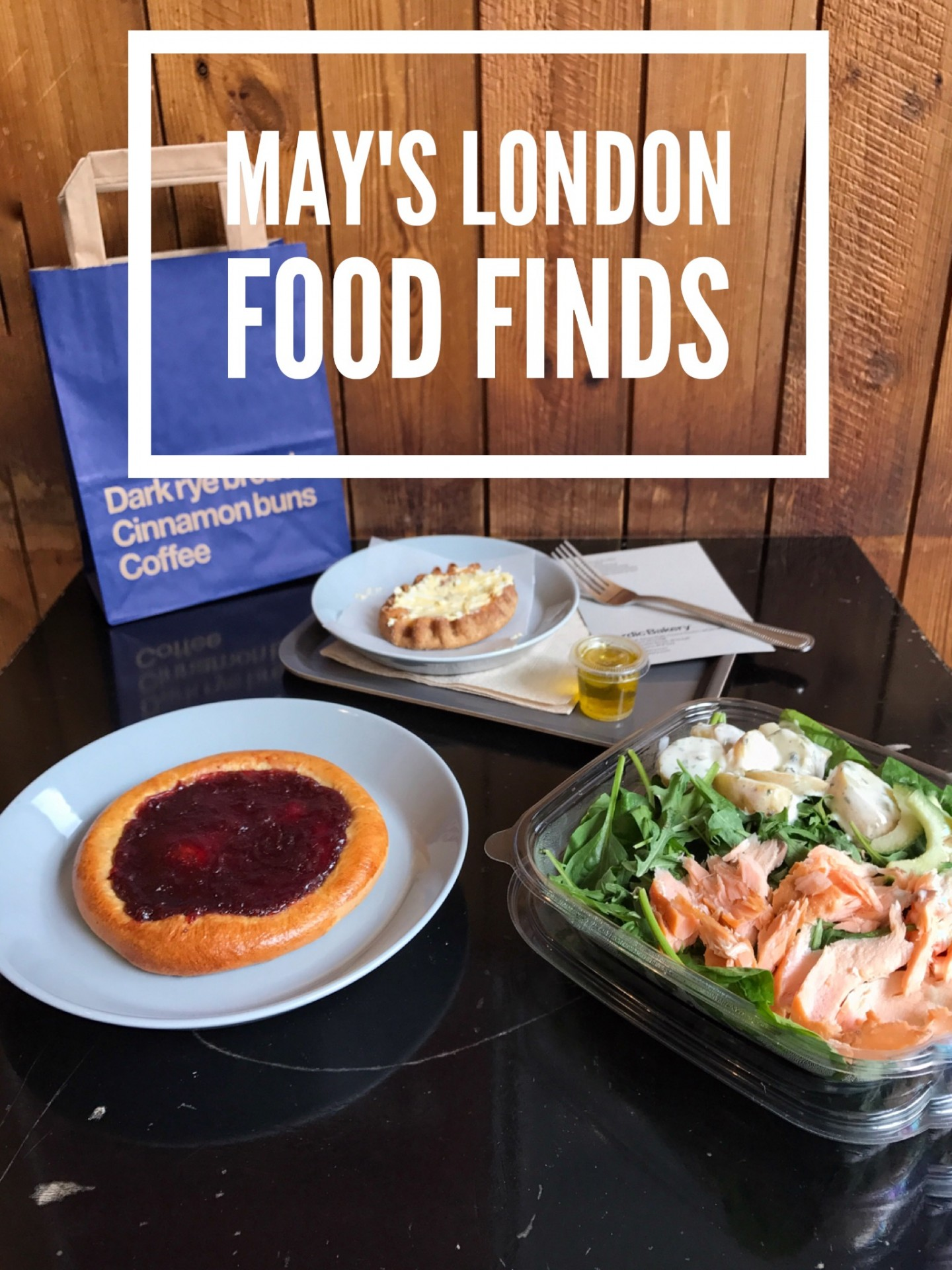 May's London Food Finds (2018)