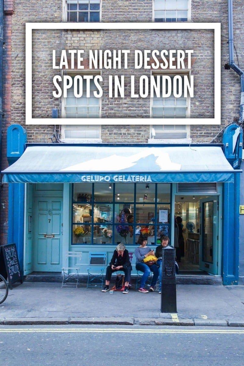 Late night dessert spots in london notsobasiclondon for Late night swimming pools london