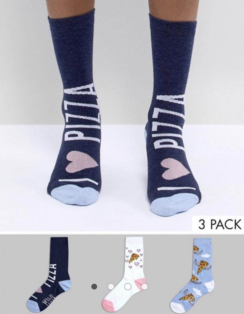 ASOS Men's Pizza Socks