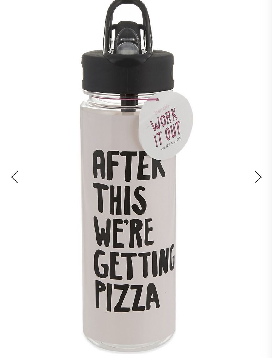 Bando Pizza Water Bottle