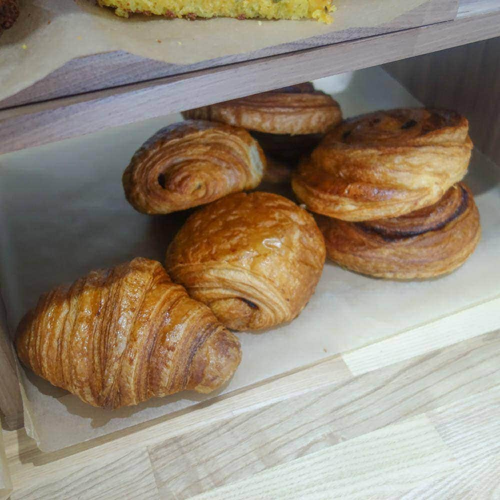 Pastries at Second Shot Coffee