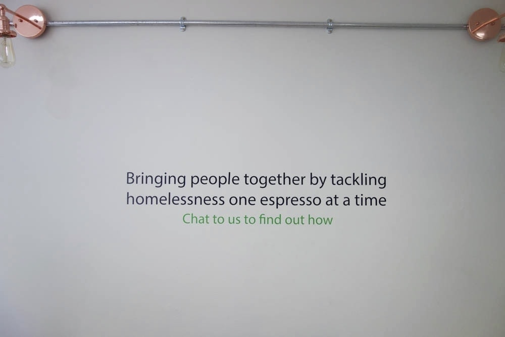 Second Shot Coffee - Coffee to help London's homeless