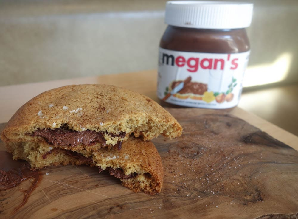 Sea Salt and Nutella Cookie, Megan's - Where To Eat in London if You're Nutty for Nutella!