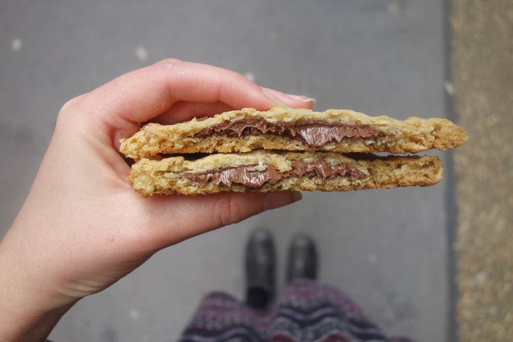 Nutella Cookie, Starbucks - Where To Eat in London if You're Nutty for Nutella!
