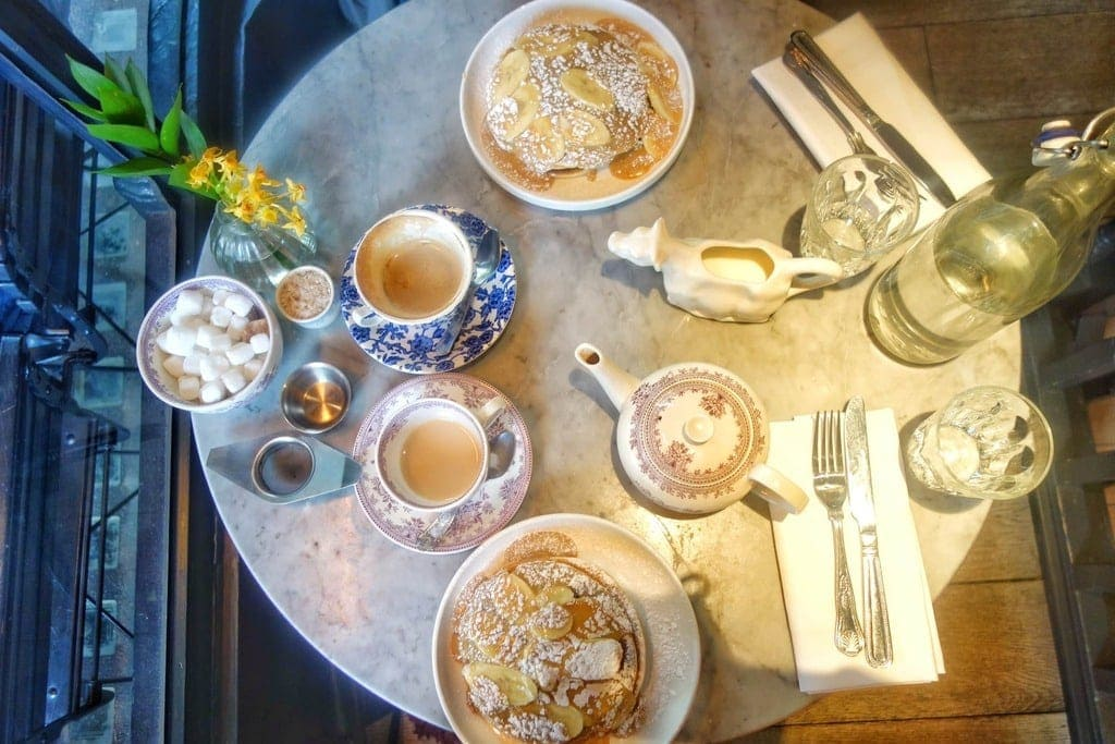 Mayfair is one of the most expensive places to live and eat in London. What if i said you could a delicious brunch of dulche de leech pancakes at NAC mayfair for under £10? Find out how on www.notsobasiclondon.com