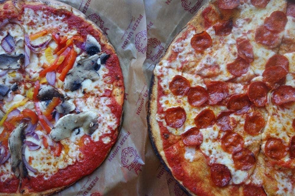 Pizza Union, Kings Cross, London
