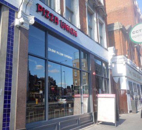 Pizza Union is home to super fast, super t