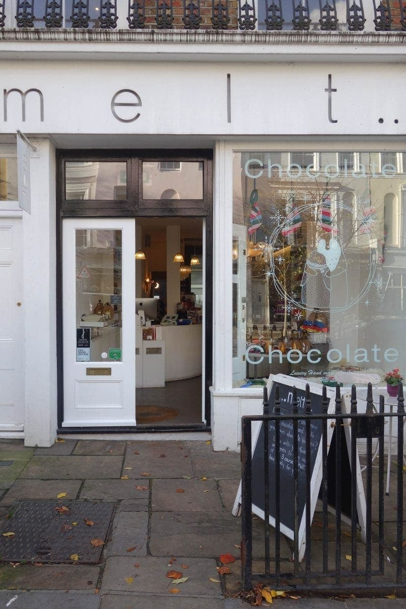 MELT, Notting Hill : Where To Drink London's Most Decadent Hot Chocolates