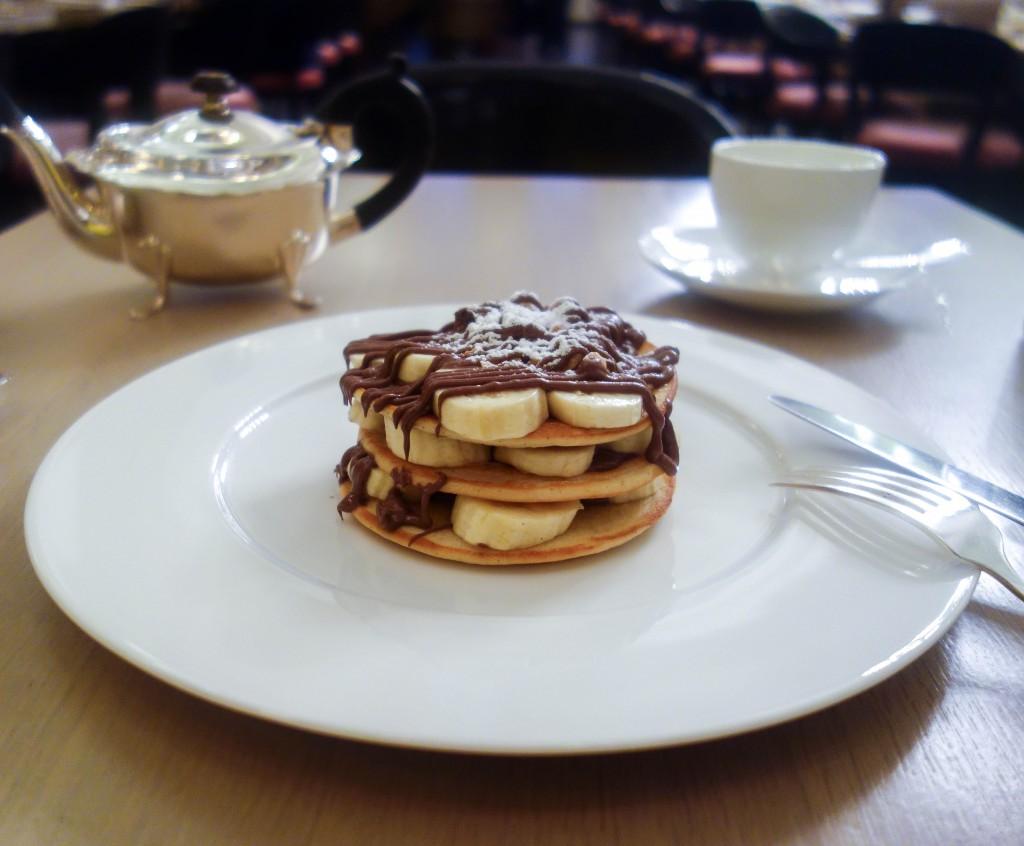 Berners Tavern Nutella Pancakes