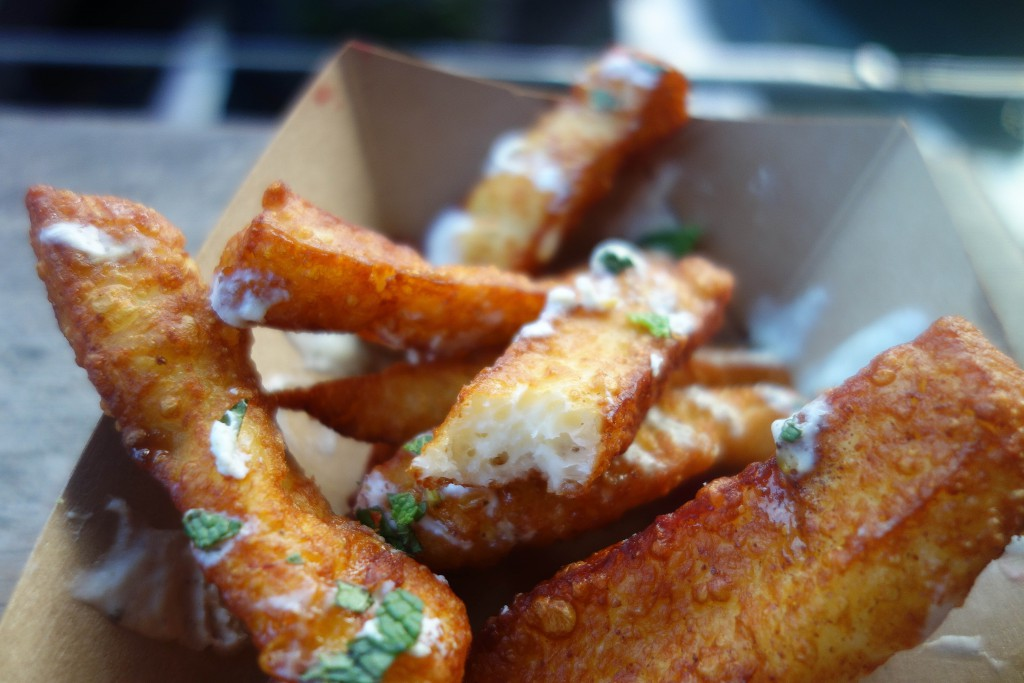 Halloumi Fries, Oli Babas, Camden Market-11