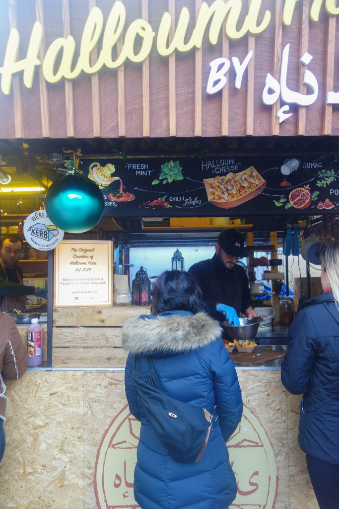 Halloumi Fries, Oli Babas, Camden Market