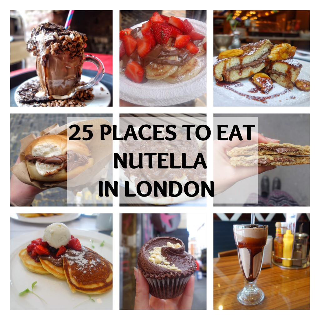 25 Places To Eat Nutella in London
