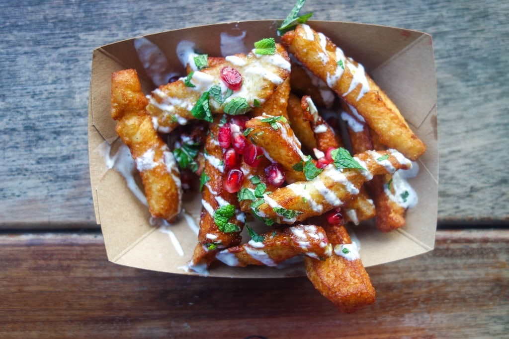 Halloumi fries, Oli Baba: Where To Eat London's Most Indulgent Cheese Fries