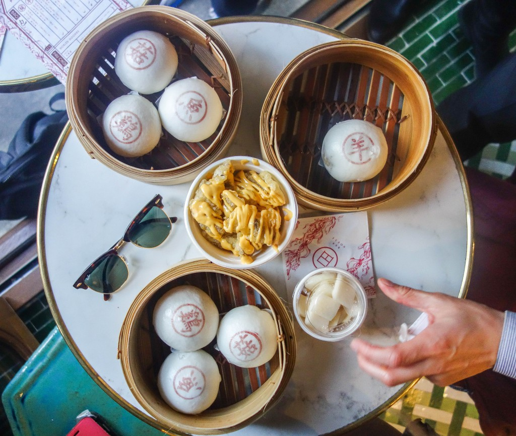 Bun House in Soho is Cantonese style street food cafe serving great sweet and savoury steamed buns. More on notsobasiclondon.com