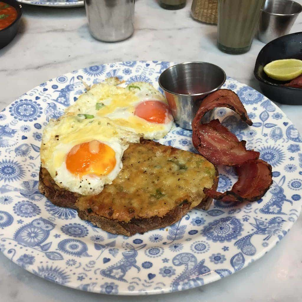 Breakfast at Dishoom, London