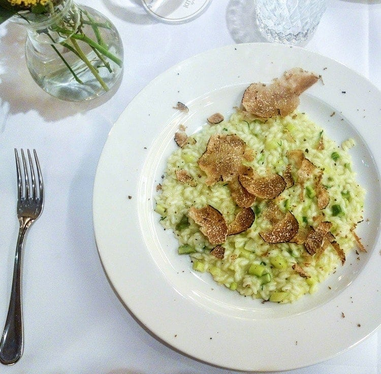 Truffle Risotto, Frescobaldi: July's London Food Finds - Picks from London's Best Restaurants