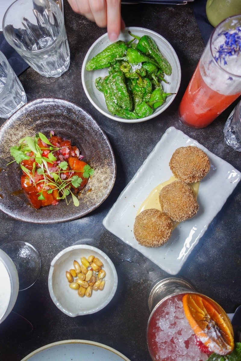 Small plates at Pachamama - 20 London Foods You Must Eat in 2018